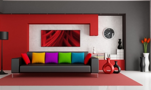 color of the sofa